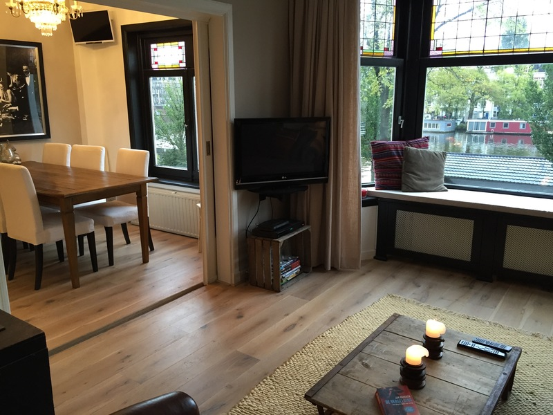 Lovely apartment along the Amstel river