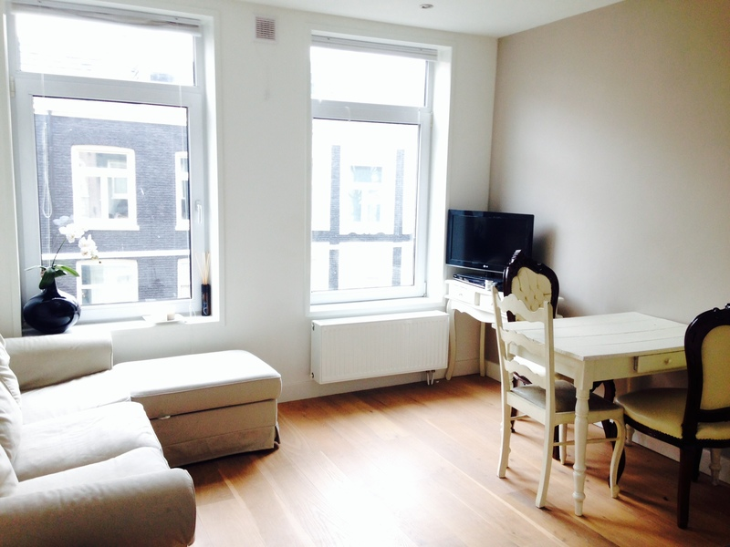 Hip Apartment with Nice View in lively De Pijp