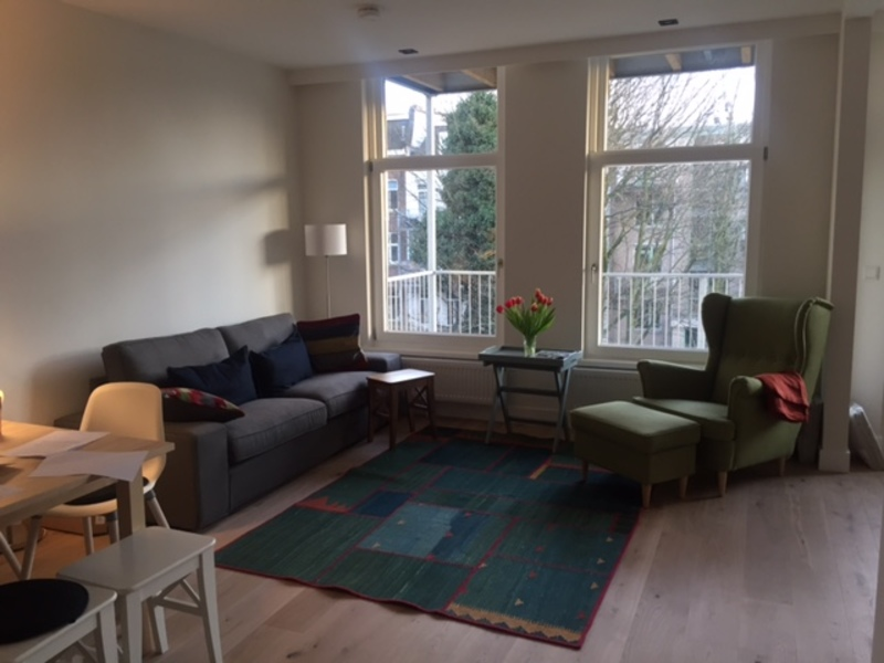 Spacious bright apartment in middle of the Pijp